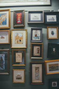 Multiple Picture Frames On A Wall